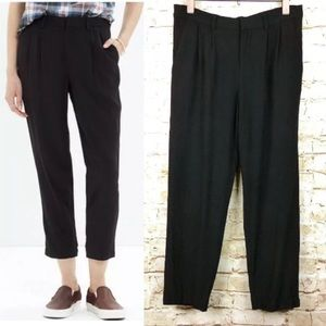 Madewell Delancey Slouch Trousers Pant Pleat Front